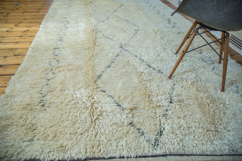 6x12.5 Vintage Moroccan Rug Runner - Old New House