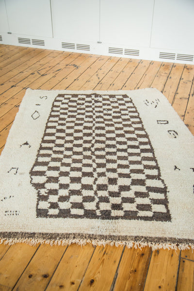 5x7 Vintage Moroccan Carpet - Old New House