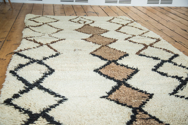 4x7 Vintage Moroccan Rug - Old New House