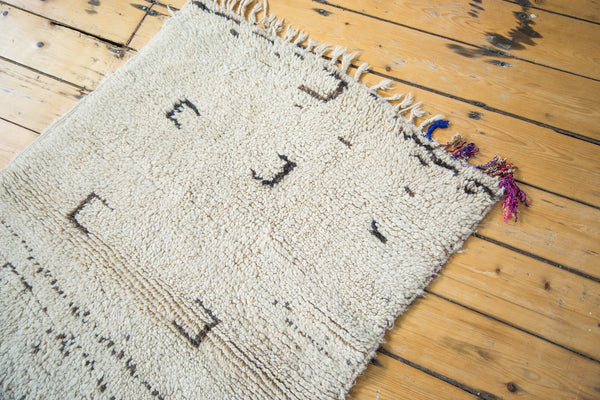 3x4 Vintage Moroccan Rug - Old New House
