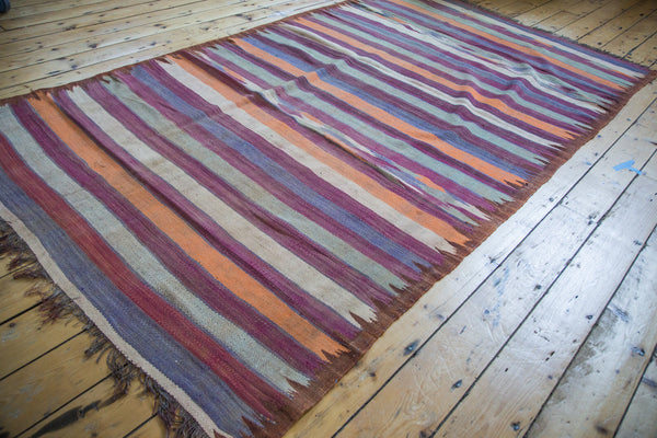 5.5x9.5 Vintage Moroccan Kilim Carpet - Old New House