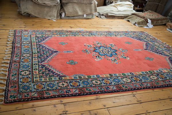 6.5x9.5 Vintage Moroccan Carpet - Old New House