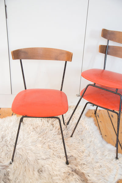 Mid Century Modern Clifford Pascoe Set of 3 Chairs - Old New House