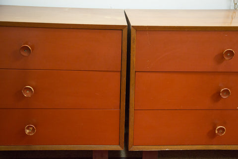 Herman Miller / George Nelson Vintage Dressers - Old New House
