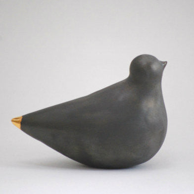 Black Porcelain Turtle Dove