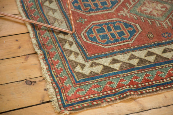 Antique Kazak Square Rug / Item ct001110 image 6