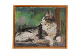 "Grace B. Keogh ""Judy's Cat"" Painting"