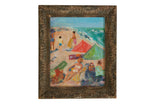 "Grace B. Keogh ""Beach Scene"" Painting"