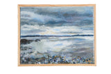 "Grace B. Keogh Painting ""Passing Storm"" // ONH Item ct001184"