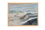 "Grace B. Keogh Painting ""People on Beach"" // ONH Item ct001187"