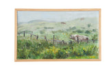 "Grace B. Keogh Painting ""Bull in Meadow"" // ONH Item ct001188"