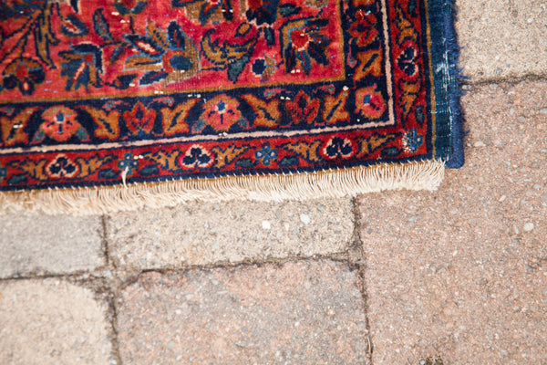 4x6 Antique Persian Kashan - Old New House
