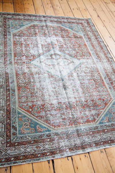 4.5x6 Distressed Malayer Rug - Old New House