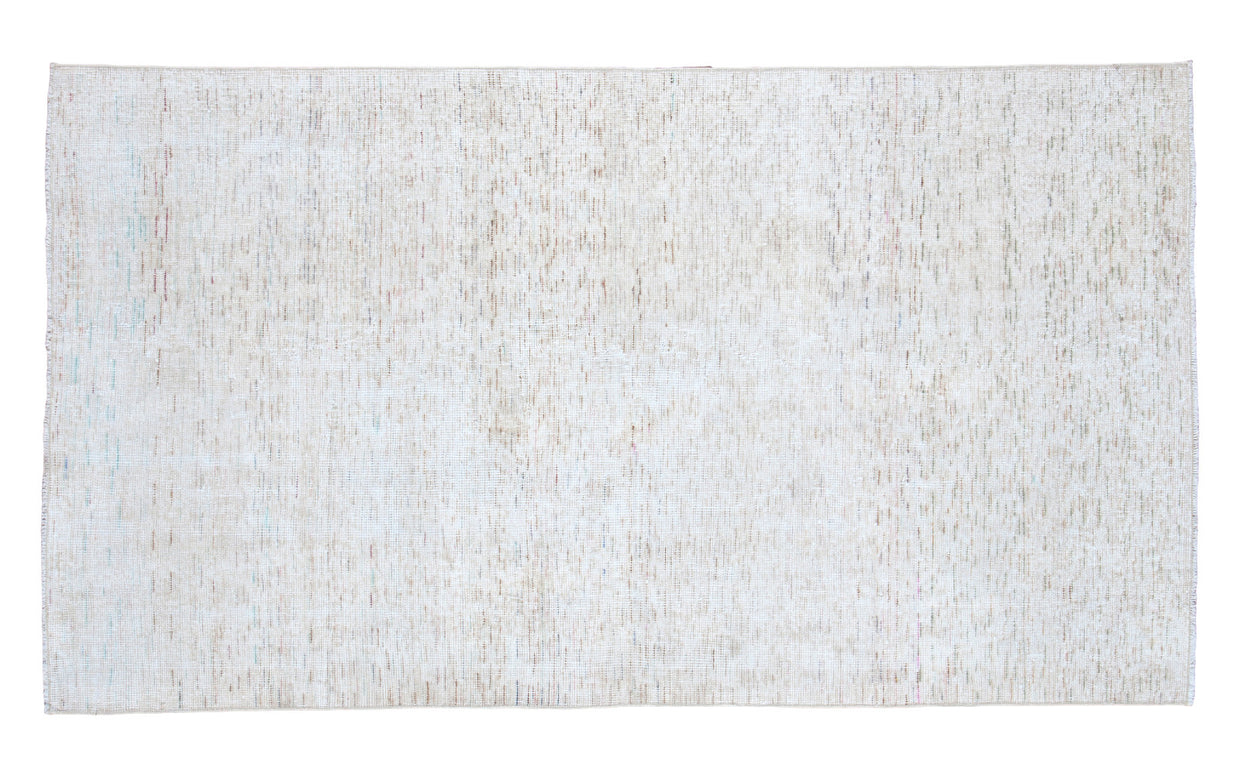 3.5x6.5 Distressed Oushak Rug // ONH Item ee001163