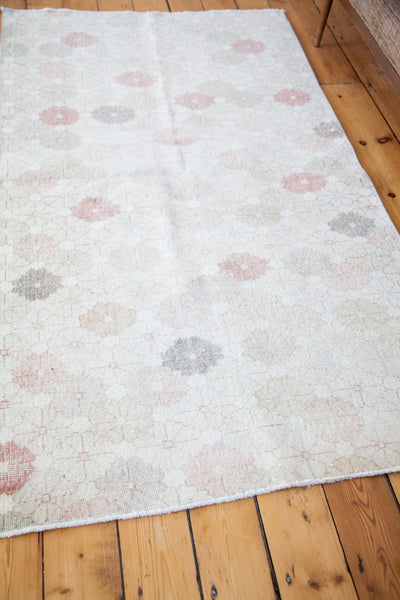 3.5x7 Distressed Oushak Rug - Old New House