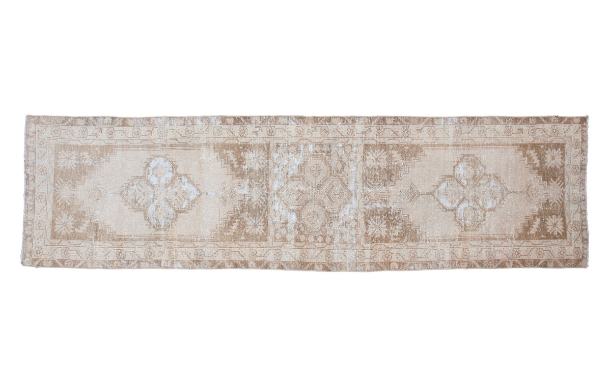 2.5x9.5 Vintage Oushak Runner - Old New House