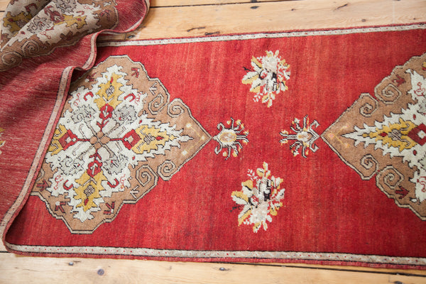 2.5x12 Vintage Oushak Runner - Old New House