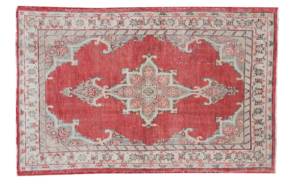 4x6.5 Vintage Oushak Rug - Old New House