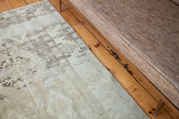 4x5 Distressed Oushak Square Rug - Old New House