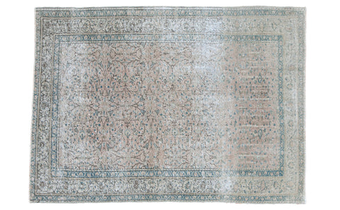 4x5.5 Distressed Kayseri Rug - Old New House
