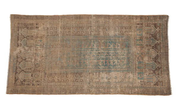 3x6 Distressed Belouch Rug Runner - Old New House