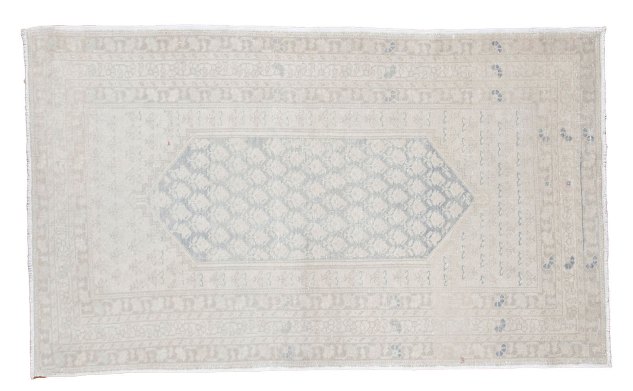 4.5x7.5 Distressed Oushak Rug // ONH Item ee001244