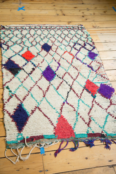 3x4.5 Vintage Moroccan Rug - Old New House