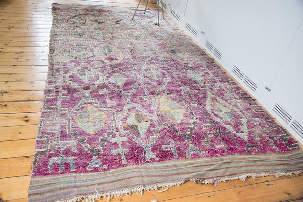 6x12 Vintage Moroccan Rug Runner - Old New House