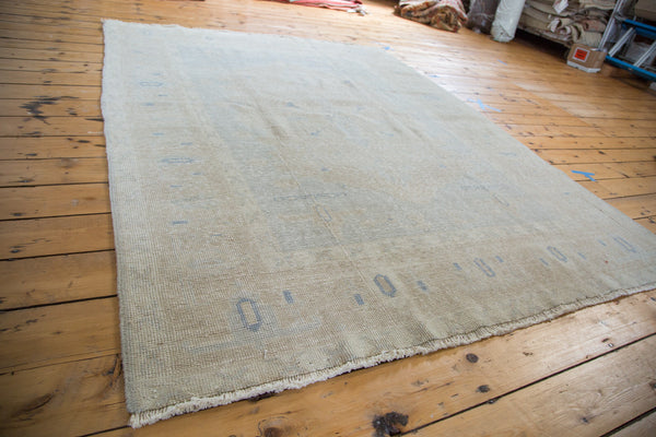 6x7.5 Vintage Oushak Carpet - Old New House