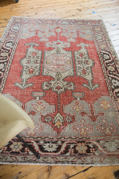 5x8 Vintage Oushak Carpet - Old New House