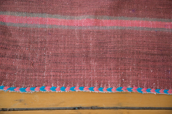 5x12 Vintage Moroccan Kilim Rug Runner - Old New House