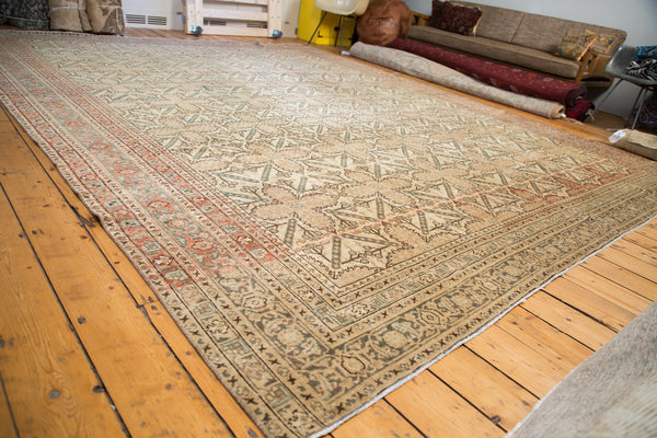 11x13 Antique Tabriz Carpet - Old New House