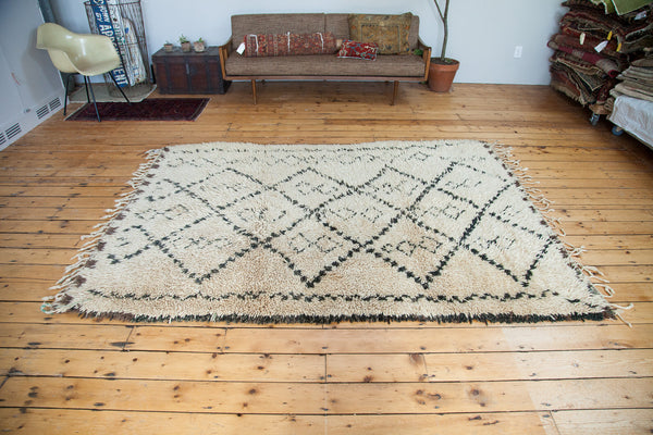 6x8.5 Vintage Moroccan Carpet - Old New House