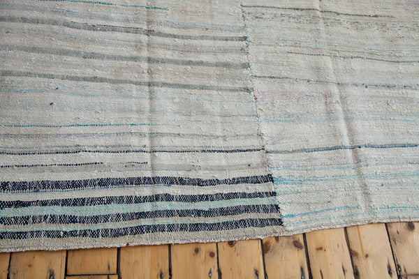 7x7 Vintage Rag Rug Carpet - Old New House