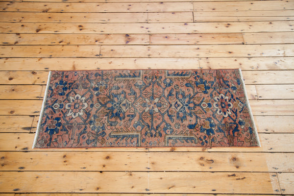 2x5 Vintage Mahal Rug Runner - Old New House