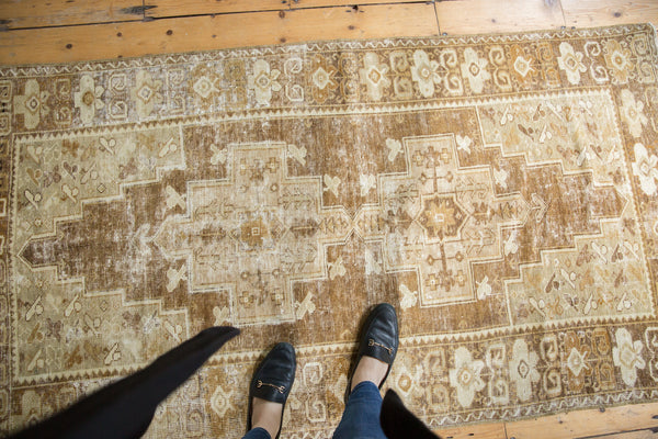 Distressed Oushak Rug Runner / Item ee001411 image 2