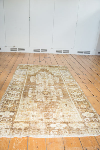 Distressed Oushak Rug Runner / Item ee001411 image 3