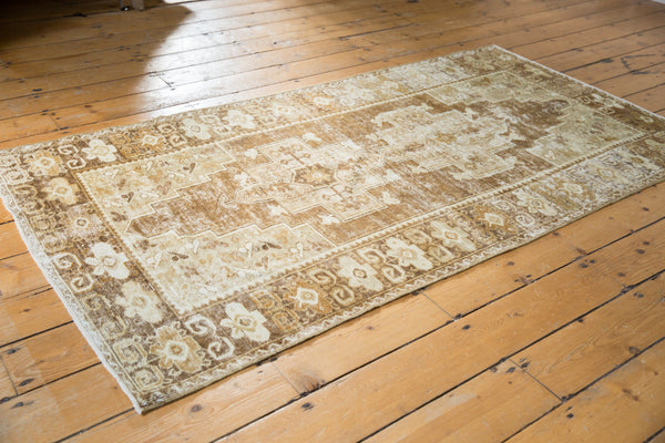 Distressed Oushak Rug Runner / Item ee001411 image 5