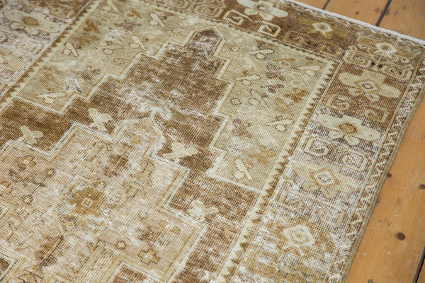 Distressed Oushak Rug Runner / Item ee001411 image 8