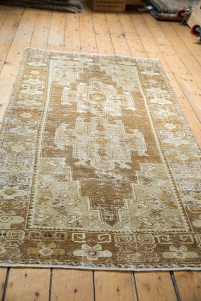 Distressed Oushak Rug Runner / Item ee001411 image 9