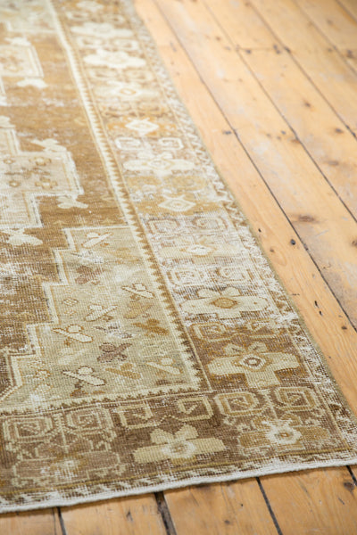 Distressed Oushak Rug Runner / Item ee001411 image 11