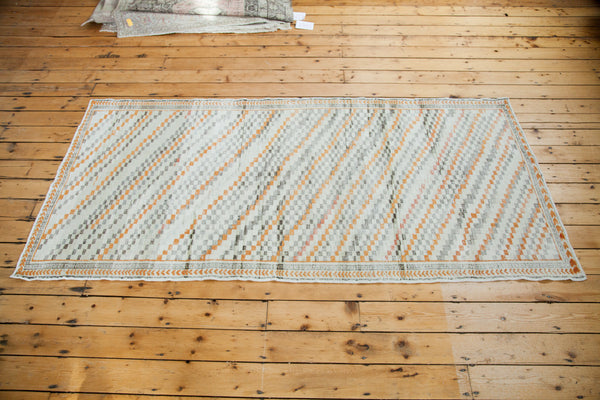 Distressed Oushak Rug Runner / Item ee001413 image 2