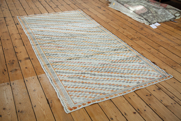 Distressed Oushak Rug Runner / Item ee001413 image 4