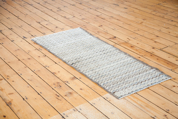 2x5.5 Distressed Tulu Rug Runner - Old New House