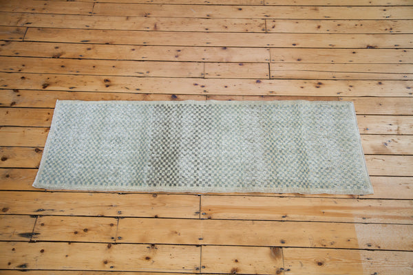 2x6 Distressed Oushak Rug Runner - Old New House