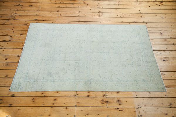 4.5x8 Distressed Oushak Rug - Old New House