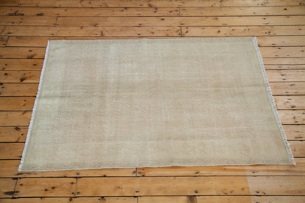 4x6.5 Distressed Oushak Rug - Old New House