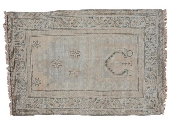 3x4 Distressed Oushak Rug - Old New House