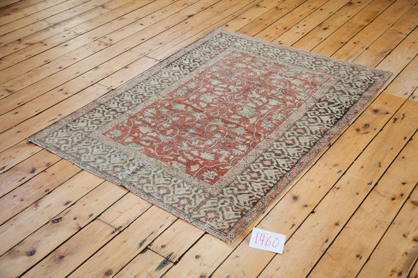 4x5 Vintage Oushak Square Rug - Old New House