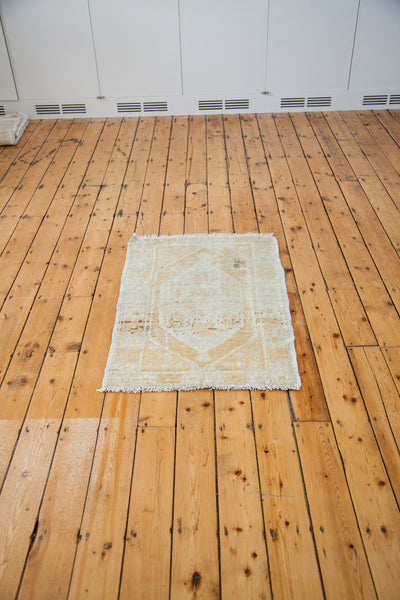 3x4 Distressed Oushak Square Rug - Old New House